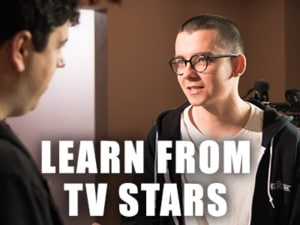 Learn acting from TV stars
