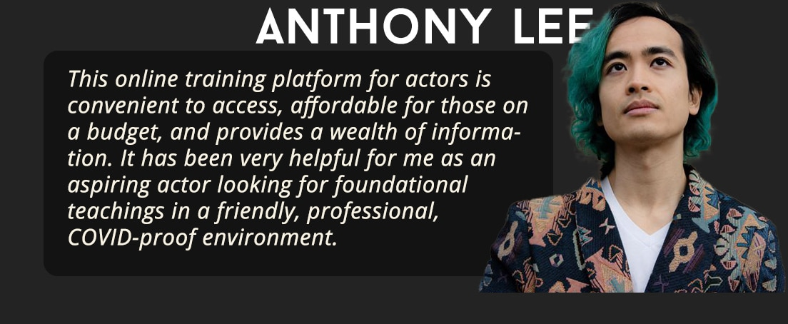 Actors Gym Reviews - Anthony