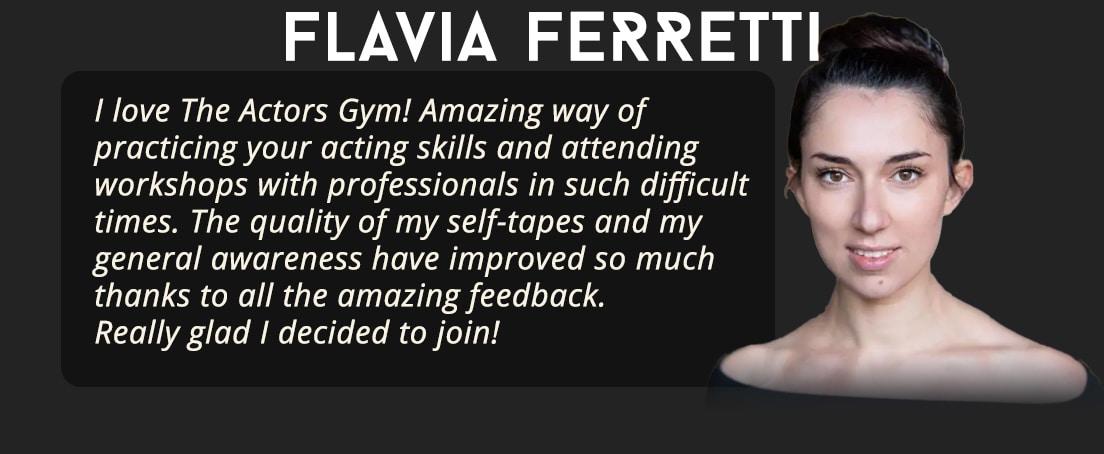 Actors Gym Reviews - Flavia