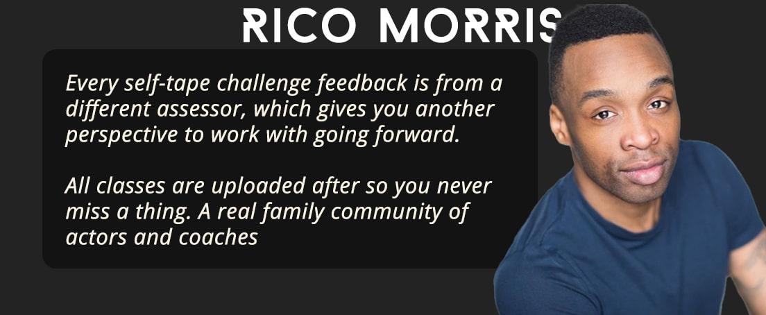 Actors Gym Reviews - Rico Morris